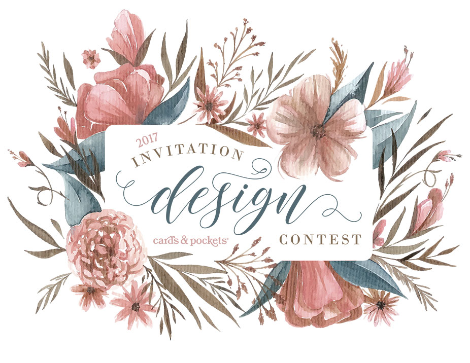 Cards & Pockets Invitation Design Contest